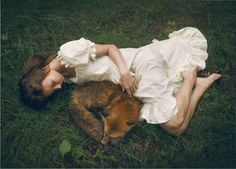 Meet The Photographer Who Uses Real Animals In Her Dreamy Portraits