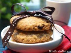 Havre- og rosincookies à la The Hummingbird Bakery - TRINEs MATBLOGG