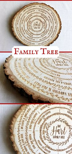 Breathtaking! I am in love with this family tree wood sign engraved on a wood slab. This would make a perfect anniversary or mothers day gift. #rustic #ad #giftideas #mothersday #anniversary