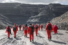 Climate Heroes UK: Activists from Reclaim The Power's End Coal Now camp occupy and halt work in the U.K.'s largest open-pit coal mine, Ffos-y-Fran in Wales, in early May. It was part of the #BreakFree2016 from Fossil Fuels organized action.