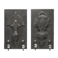 I pinned this 2 Piece Kent Wall Hook Set from the Rich & Rustic event at Joss and Main!