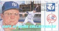 NY YANKEES ALLIE REYNOLDS FIRST DAY OF ISSUE CACHET