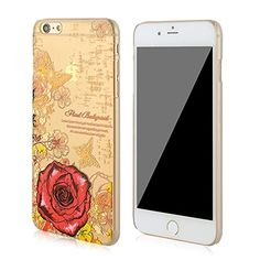 3Cworld iPhone 6 Plus Case Clear Matte Back Cover Hardshell with Design [5.5'' Hard Plastic] - Retail Packaging - 17 Patterns (rose-red) 3Cworld http://www.amazon.com/dp/B00VUHL0JM/ref=cm_sw_r_pi_dp_Iycyvb10D09Z1