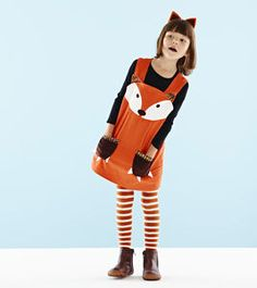 Fox Dress - fancy dress