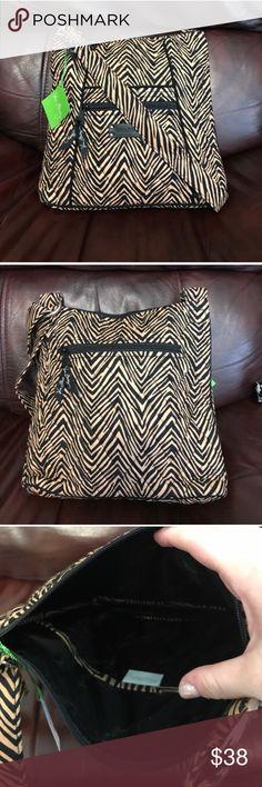 NWT Vera Bradley hipster in zebra NWT Vera Bradley hipster in zebra    NWT Vera Bradley Bags Crossbody Bags