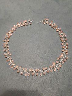 Bride Hair Accessories, Girls Accessories, Head Jewelry, Wedding Jewelry, Jewellery, Handmade Wire Jewelry, Fantasy Jewelry, Beads And Wire, Jewelry Crafts