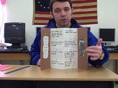 "BEST FOLDABLE This video teaches you how to make ""The Secret Door Foldable."""