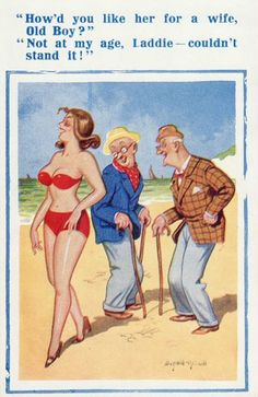 postcards 09 Funny: Banned saucy seaside postcards