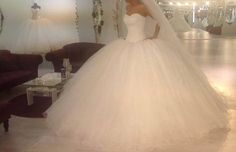 Princesses ball gown