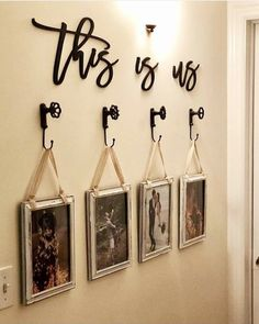 30 Simple DIY Pallet Wall Art Ideas – wall art Ideas - Decoration For Home Realtor Gifts, Rustic House, Easy Home Decor, Diy Pallet Wall Art, Living Decor, Living Room Decor, Home Decor, Home Decor Accessories, Diy Pallet Wall