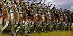 Greek Phalanx Formation| Marathon in Marathon