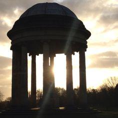 Temple & sunlight Stowe #stowetweetup