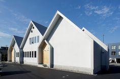 japan-architects.com: 木下昌大による「カナエル」新社屋