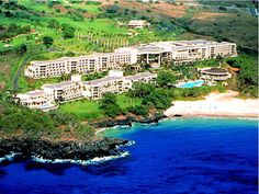 We'll be spending our 10 year anniversary here at the Hapuna Beach Prince Hotel... much needed us time and R here we come!