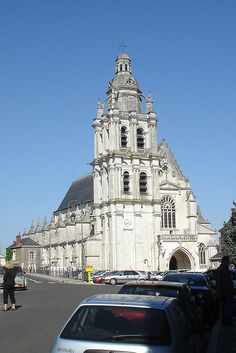 Saint-Louis Cathedral (Blois, France) by courthouselover, via Flickr
