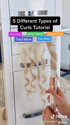 Hair Curling Tips, Hair Curling Tutorial, Curling Iron Curls, Loose Curls Tutorial, Curling Iron Tips, Curling Thick Hair, Flat Iron Curls, Hair Up Styles, Medium Hair Styles