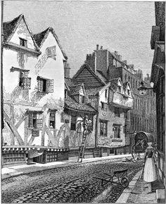John Thomas Smith's Ancient Topography Victorian London, Vintage London, Old London, London City, Thomas Smith, John Thomas, London History, British History, 19th Century London
