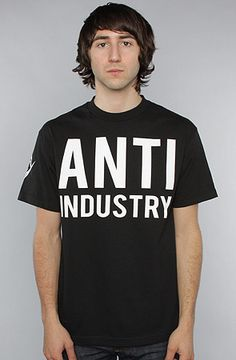 The BLVCK SCVLE x ASAP Anti-Industry Tee in Black by BLVCK SCVLE use rep code: OLIVE for 20% off!