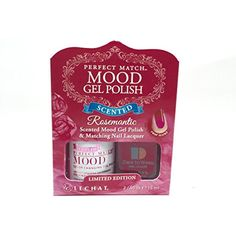 Lechat Perfect Match Mood Color Changing Gel Nail Polish Rosemantic Valentines Day Edition *** Want additional info? Click on the image. (This is an affiliate link) #NailPolish