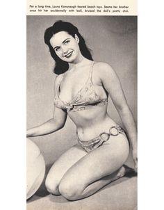 Laura Kavanaugh. Afraid of beach balls for a long time.