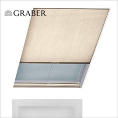 Replace skylight blinds: like this clean look, colour options, lightweight material for easier operation? Skylight Shade, Skylight Blinds, Skylights, Skylight Bathroom, Tree Canopy, Roller Shades, Room Interior, Save Energy, Windows