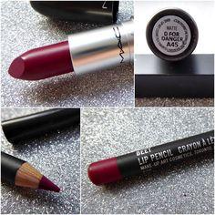 D for Danger lipstick and Beet lip pencil by MAC Mac Lipstick Shades, Lipstick For Fair Skin, Lipstick Dupes, Best Lipsticks, Powder Lipstick, Matte Lipstick, Liquid Lipstick, Lip Makeup, Hairstyle Ideas
