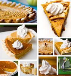 Pumpkin Pie Round-up! #vegan