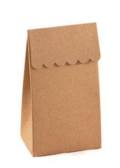 Party Treat Bags - Kraft