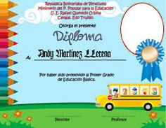 diplomas para niños para descargar gratis - Buscar con Google Dollar Bill Cake, Certificate Design Template, Certificate Of Appreciation, Boarders And Frames, Kindergarten, Classroom, Diy And Crafts, Activities, Education