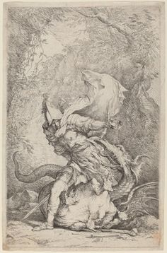Salvator Rosa, 'Jason and the Dragon,' ca. 1663/1664, National Gallery of Art, Washington, D.C.