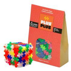 Plus-Plus Mini Neon 300 Piezas Colores Neón - Juguete De Construcción Plus-Plus PLS-3351 Kinuma.com