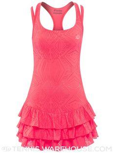 Fila womens summer collezione pleated dress
