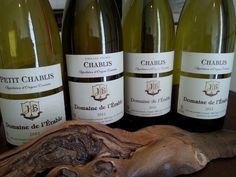 Chablis, Chablis Vieilles Vignes et Petit Chablis- Domaine de l'Erable