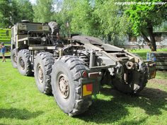 Heckansicht M1001 MAN (KAT II) orginal-erhaltene - Fahrzeugbilder.de