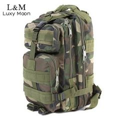 e8a85231f086f OSdream Sport Outdoor Military Rucksacks Tactical Molle Backpack Camping  Hiking Trekking Bag (Jungle camouflage) For Sale