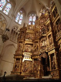 Retablo de la Catedral de Burgos,Castilla Leon