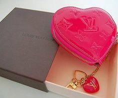 YSL hearty wallet