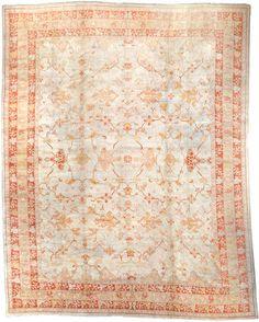 Oushak carpet  West Anatolia  late 19th century  size approximately 13ft. x 16ft. 7in.