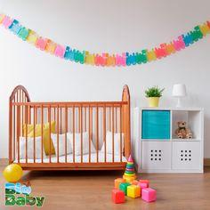 Si aún no saben el sexo de su bebé, pueden utilizar diferentes colores para empezar a decorar su cuarto.