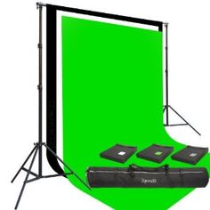 Amazon.com: Three Prism 10x20' 100% Cotton Muslin Backdrops and The Ravelli Full Size 10x12' Background Stand Set: Camera & Photo $198
