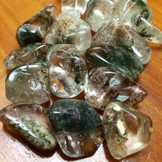 Magical Lodolite - the World Within stone for dreamwork and healing