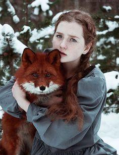 La jeune fille qui murmurait à l'oreille des renards, les images féériques d'Alexandra Bochkareva