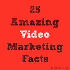 25 Great Stats About the Power of Video Content Marketing Tools, Marketing Articles, Social Media Marketing, Business Branding, Business Marketing, Business Tips, Marketing Information, Marketing Professional, Infographic