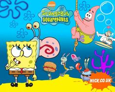 SPONGEBOB SQUAREPANTS cartoon family animation