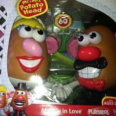 Mashly in Love 60th anniversary Potatoheads.