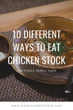 Is your pantry filled with canned chicken stock - or are you thinking about tryi., DIY and Crafts, Is your pantry filled with canned chicken stock - or are you thinking about trying to make your own chicken stock from leftover chicken? Chicken Broth Recipes, Recipe Using Chicken, Leftover Chicken Recipes, Canned Chicken, Leftovers Recipes, Crockpot Recipes, Recipes With Chicken Stock, Dinner Recipes, Raising Meat Chickens