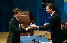 Real Madrid C.F. - Web Oficial - Iker Casillas, Premio Príncipe de Asturias