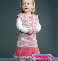 Free+Knitting+Pattern+-+Toddler+&+Children's+Clothes:+Kid's+Dress