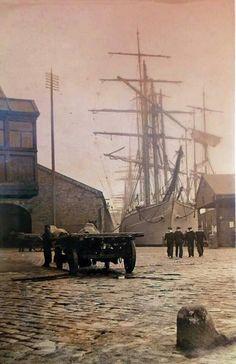 Wharf, UK, 1860's
