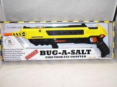 BUG-A-SALT~ NEW ~ The Original Salt Gun!